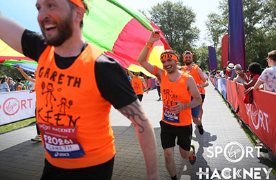 Hackney Half Marathon celebrations