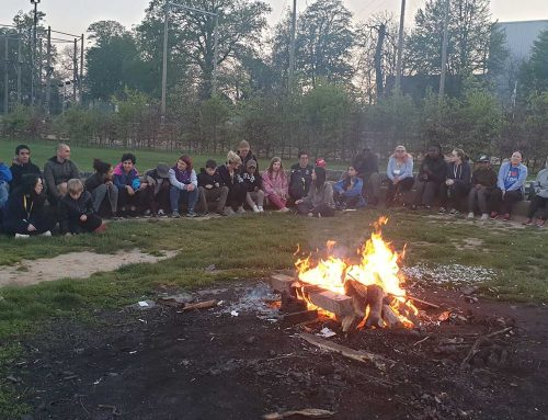 Zipwires and campfires — it must be the Easter residential!
