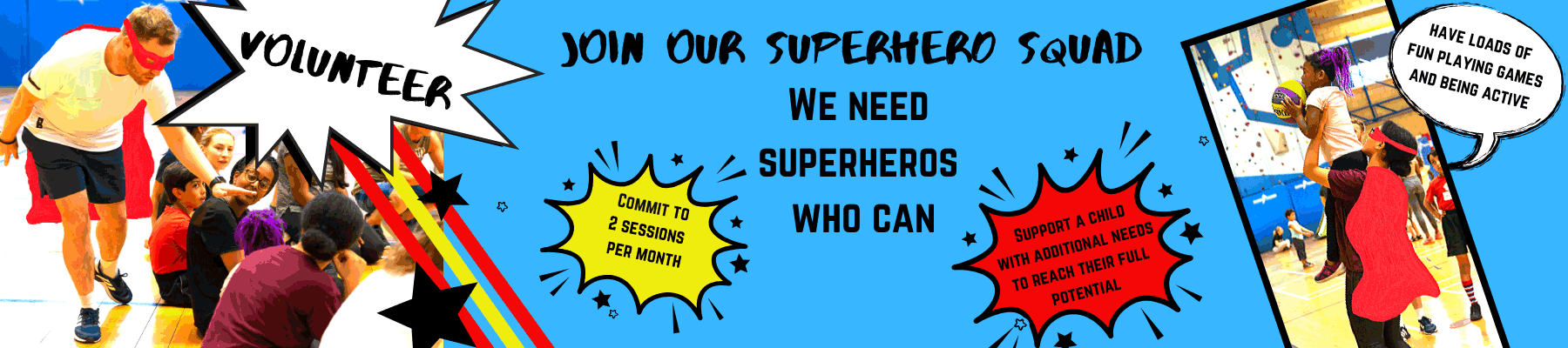 We need Superheros!